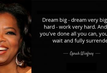 Oprah Winfrey and a famous quote