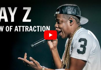 JAY Z Video screen shot about Law of Attraction